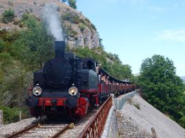 Train à Vapeur de Martel