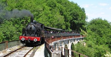 Le train à vapeur de Martel